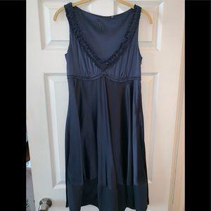 Gorgeous Elie Tahari blue silk dress!